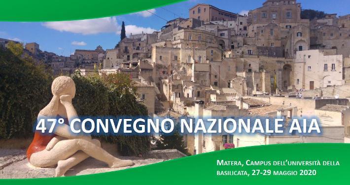 AIA Convegno Nazionale 2020