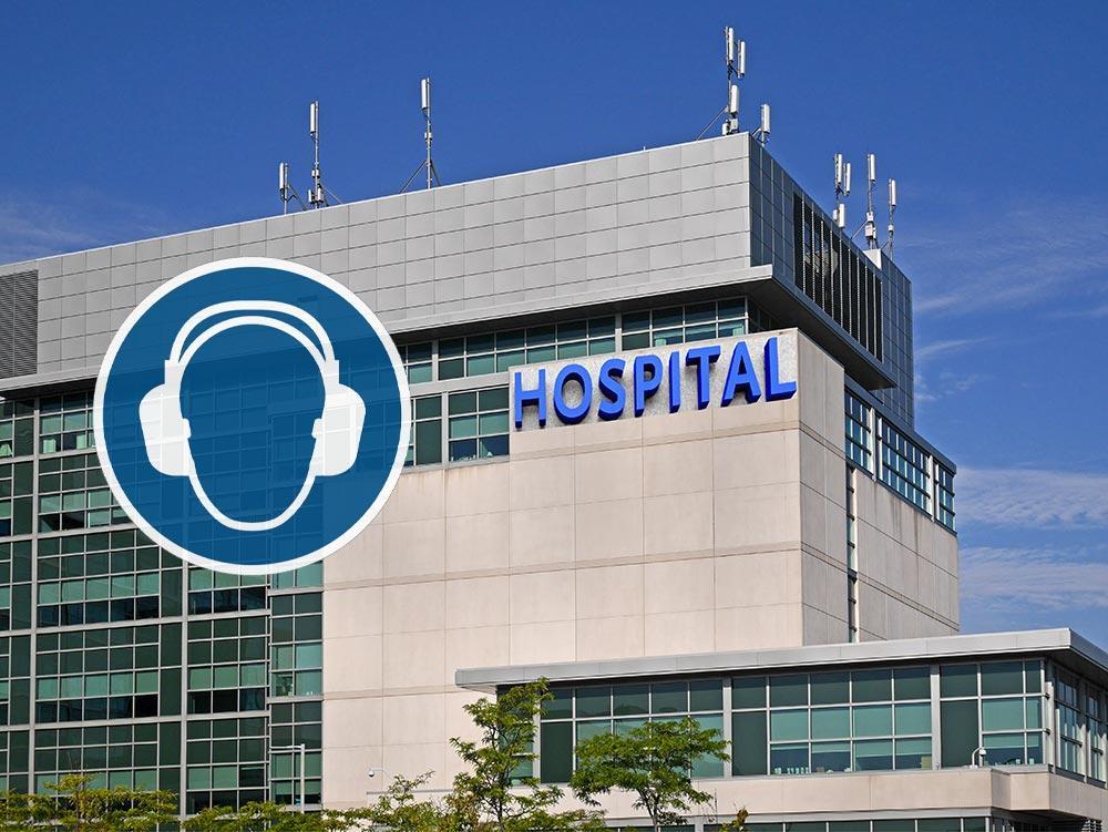 Misurazione rumore azienda ospedaliera